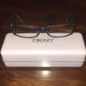 DKNY frames with Box and duster.